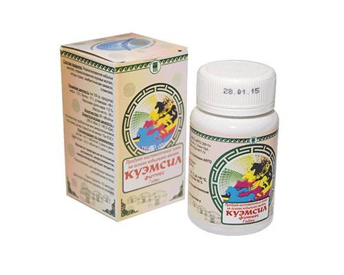 Продукт кисломолочный сухой «КуЭМсил» Фитнес Годжи, таблетки 60шт