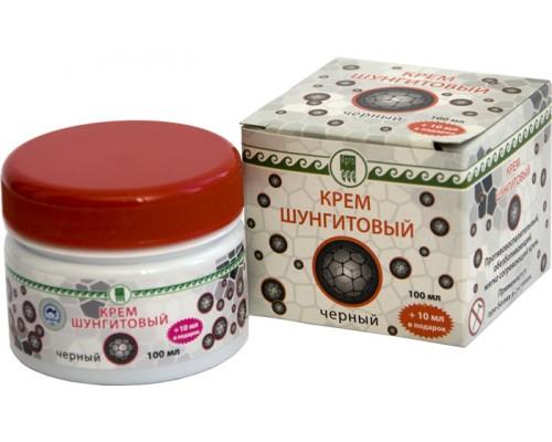 Крем шунгитовый черный с экстрактом красного перца, 100мл
