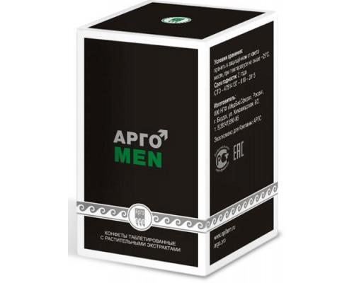 Конфеты таблетированные с растительными экстрактами «АргоMeN», 100шт