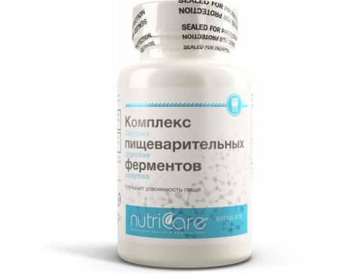 БАД Комплекс пищеварительных ферментов (NutriCare Int.), таблетки 60шт
