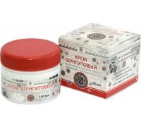 Крем шунгитовый массажный с красным перцем, камфорой и маслом эвкалипта, 100мл