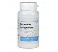 БАД Витамины при диабете (NutriCare Int.), таблетки 60шт