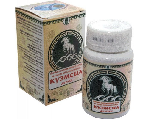 Продукт кисломолочный сухой КуЭМсил Детокс, таблетки, 60 шт