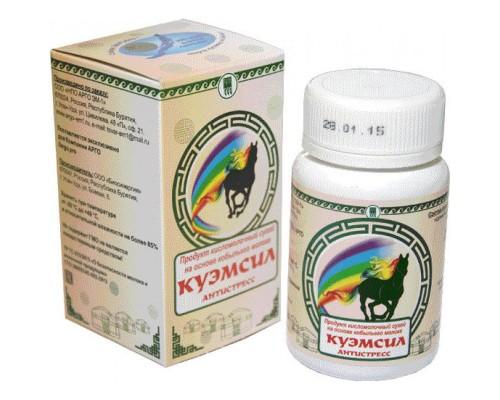 Продукт кисломолочный сухой КуЭМсил Антистресс, таблетки, 60 шт