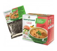 Крем-суп Камчатский с горбушей и треской, 30 г