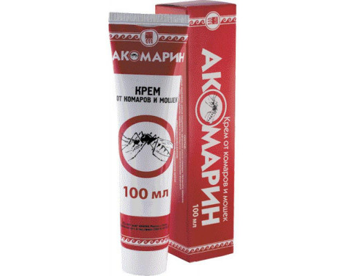 Крем от комаров и мошек Акомарин, 100 мл