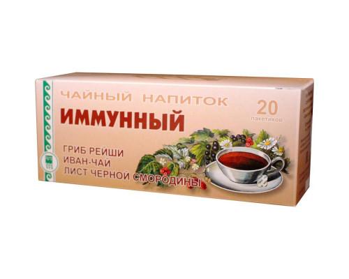 Напиток чайный Иммунный, пакетики с сухой смесью, 40 г
