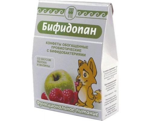 Конфеты обогащенные пробиотические Бифидопан, 70 г