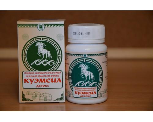 Продукт кисломолочный сухой «КуЭМсил» Детокс, таблетки 60шт
