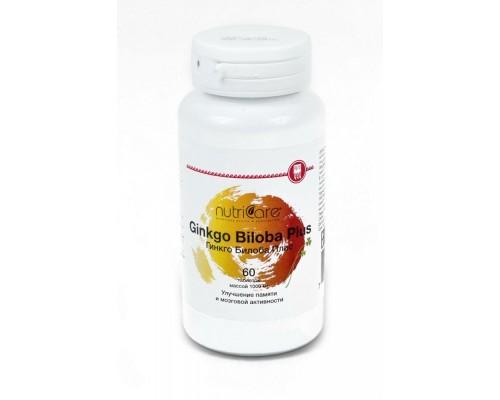 БАД Гинкго Билоба Плас (NutriCare Int.), таблетки 60шт