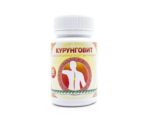 Продукт кисломолочный сухой «Курунговит», таблетки 60шт
